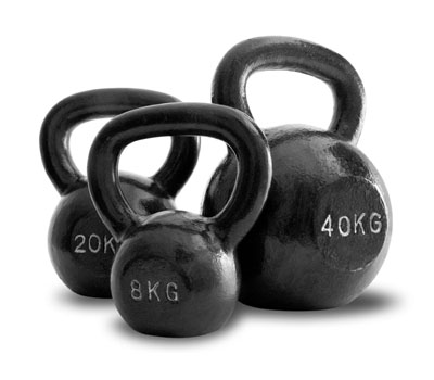 load of kettlebell